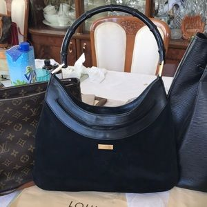 Authentic Gucci Bag w/ bamboo handle